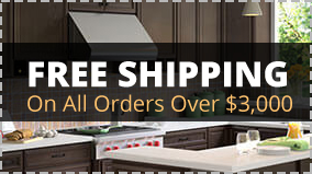 Free Shipping to all orders over $3,000