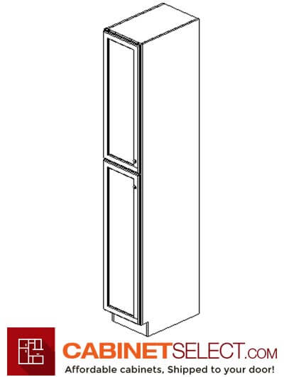"AP-WP1596: Pepper Shaker 15"" 1 Door Pantry Cabinet"
