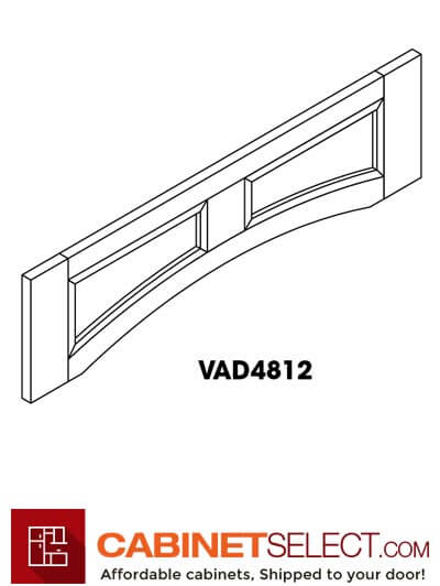 "PC-VAD4812: Pacifica 48"" Arched Valance"