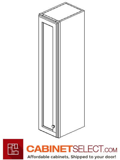 "PC-W0942: Pacifica 9"" Single Door Wall Cabinet"