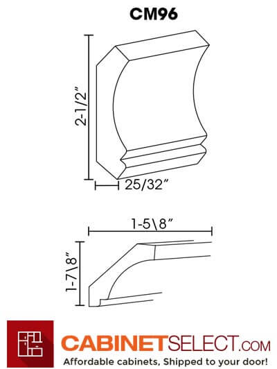 SB-CM96: Signature Brownstone Crown Molding