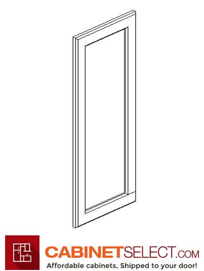 "SB-EPW1230D: Signature Brownstone 12"" End Decorative Door"