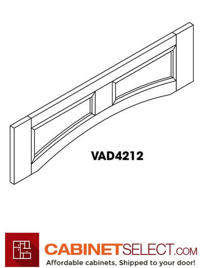 "SB-VAD4212: Signature Brownstone 42"" Arched Valance"