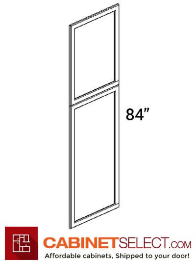 TW-EPWP2484D: Uptown White 24x84 End Decorative Door