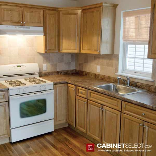 Light Wood Kitchen Cabinets