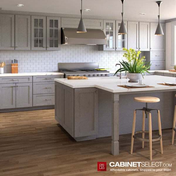 Nova Light Grey Shaker Kitchen