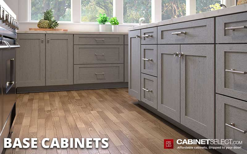 standard Base cabinet sizes and Dimensions | What are standard Base Cabinet Dimensions | CabinetSelect.com
