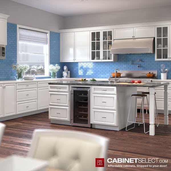 K White Kitchen Design