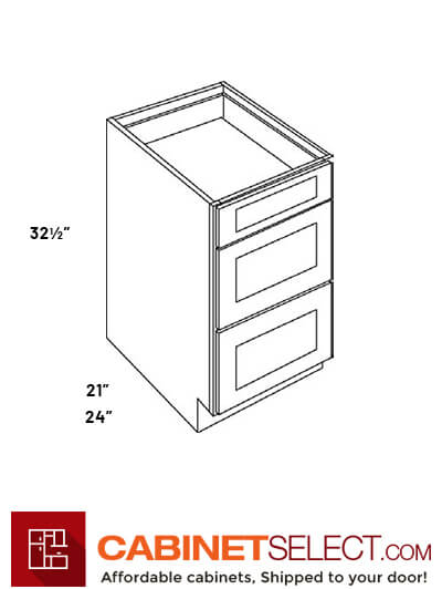 3 Drawer Base Cabinets Db12 Ha