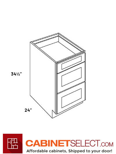 3 Drawer Base Cabinets Db30