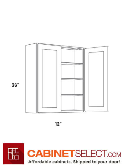 High 2 Door Wall Cabinets 2736