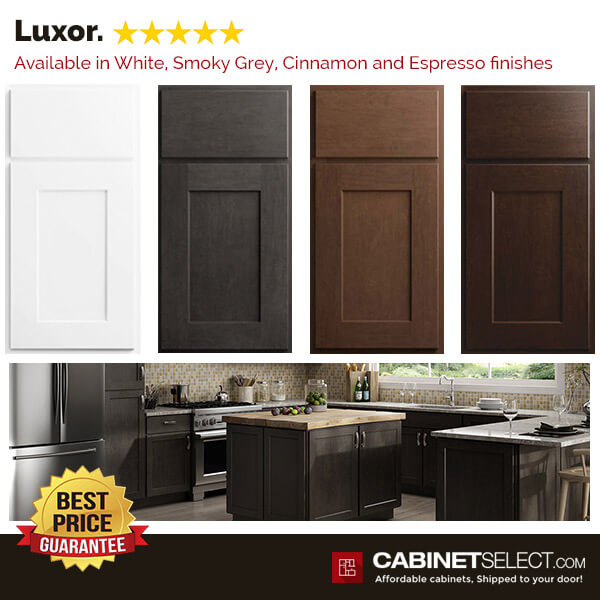 Luxor Cabinets Available Colors