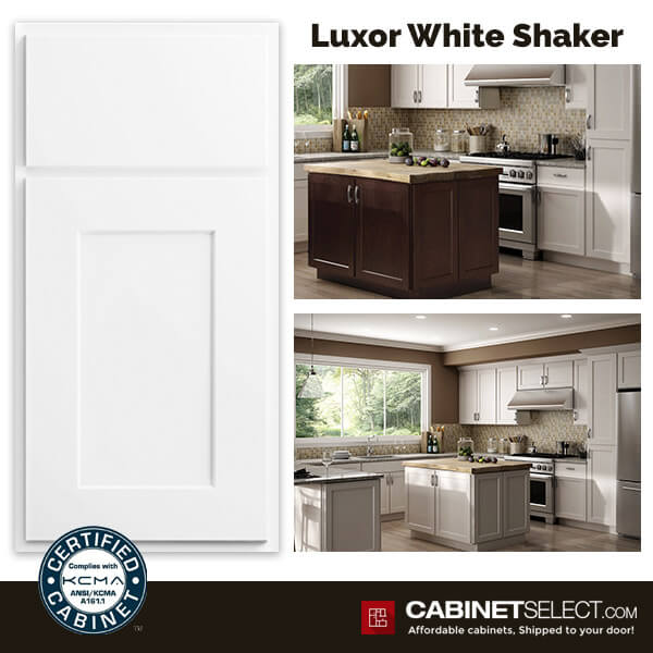 Luxor Kitchen Cabinets White