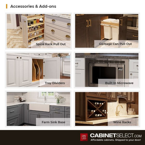 US Cabinet Depot Cabinet Features | CabinetSelect.com