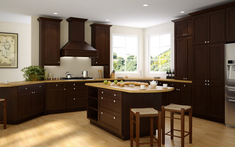 The cost of framed kitchen cabinets - shop cheap kitchen cabinets at CabinetSelect.com